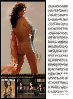 Красивая Кэрол Олт позирует голой в журнале Playboy фото #4
