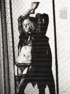 Соблазнительная Дайан Крюгер  в журнале GQ фото #4