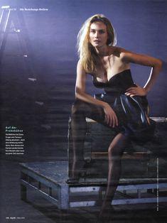 Соблазнительная Дайан Крюгер  в журнале GQ фото #5