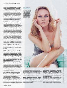Соблазнительная Дайан Крюгер  в журнале GQ фото #7