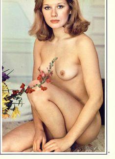 Красавица Доминик Санда снялась голой в журнале Playboy фото #3
