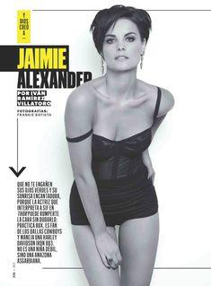 Эротичная Джейми Александер позирует для журнала Esquire фото #1