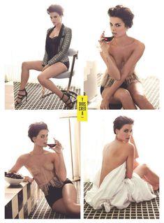 Эротичная Джейми Александер позирует для журнала Esquire фото #3