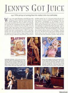 Волосатая писька Дженни Маккарти в журнале Playboy фото #2