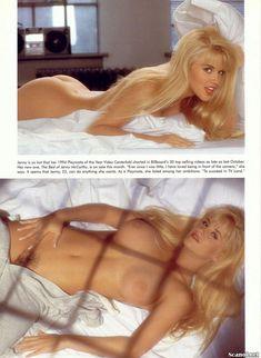 Волосатая писька Дженни Маккарти в журнале Playboy фото #6