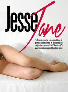 Абсолютно голая Джесси Джейн  в журнале Playboy фото #2