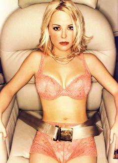 Сексуальная Джордан Лэдд снялась в белье в журнале Die Girls Von FHM фото #1