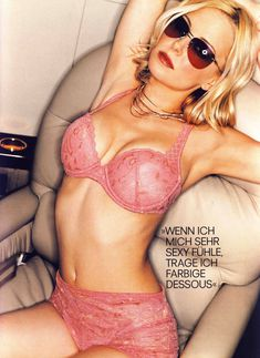 Сексуальная Джордан Лэдд снялась в белье в журнале Die Girls Von FHM фото #3