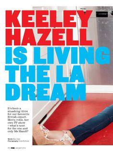 Симпатичная Кили Хэзелл на красивых фото в журнале FHM фото #2