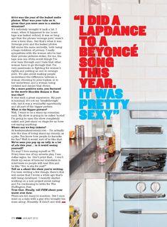 Симпатичная Кили Хэзелл на красивых фото в журнале FHM фото #6