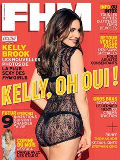 Привлекательная Келли Брук в журнале FHM фото #1