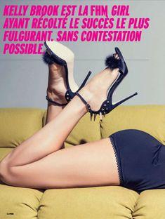 Привлекательная Келли Брук в журнале FHM фото #4