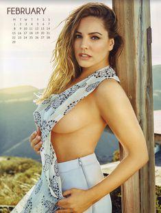 Эротичная Келли Брук для календаря фото #2