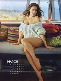Эротичная Келли Брук для календаря фото #3