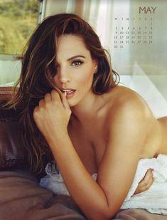 Эротичная Келли Брук для календаря фото #5