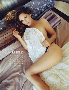Эротичная Келли Брук для календаря фото #9