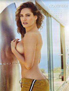 Эротичная Келли Брук для календаря фото #11