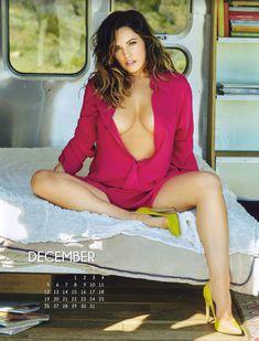 Эротичная Келли Брук для календаря фото #12