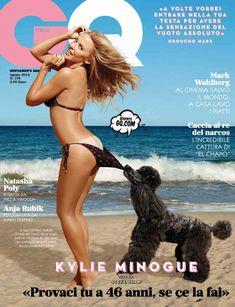 Секси Кайли Миноуг  в журнале GQ фото #1