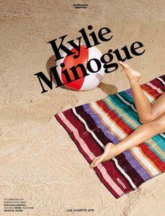 Секси Кайли Миноуг  в журнале GQ фото #2