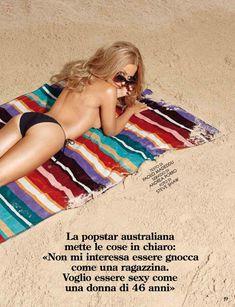 Секси Кайли Миноуг  в журнале GQ фото #3