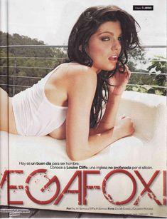 Пышная голая грудь Луиз Клифф в журнале Maxim фото #2
