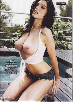 Пышная голая грудь Луиз Клифф в журнале Maxim фото #4