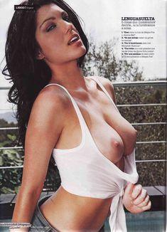 Пышная голая грудь Луиз Клифф в журнале Maxim фото #5