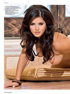 Абсолютно голая Санни Леоне  в журнале Penthouse фото #9