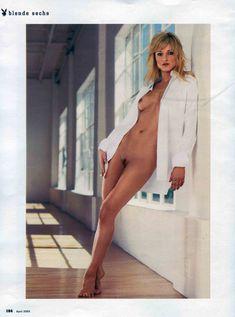 Чувственная Тери Поло снялась обнажённой в журнале Playboy фото #3