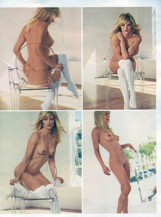 Чувственная Тери Поло снялась обнажённой в журнале Playboy фото #4