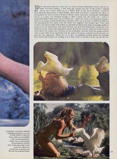 Соблазнительная Урсула Андресс оголилась в журнале Playboy фото #2