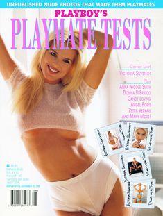 Молодая Виктория Сильвстедт позирует  в журнале Playboys Playmate Test фото #1