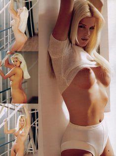 Молодая Виктория Сильвстедт позирует  в журнале Playboys Playmate Test фото #4