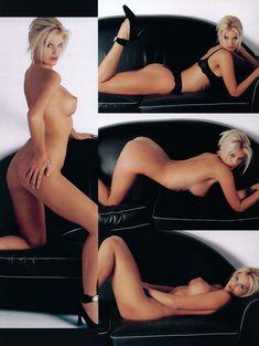 Молодая Виктория Сильвстедт позирует  в журнале Playboys Playmate Test фото #7
