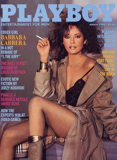 Красотка Барбара Каррера обнажилась в журнале Playboy фото #1