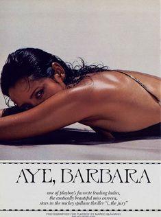 Красотка Барбара Каррера обнажилась в журнале Playboy фото #2