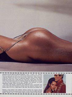 Красотка Барбара Каррера обнажилась в журнале Playboy фото #3