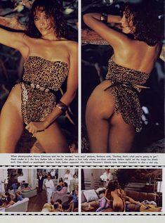 Красотка Барбара Каррера обнажилась в журнале Playboy фото #4