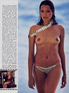 Красотка Барбара Каррера обнажилась в журнале Playboy фото #5
