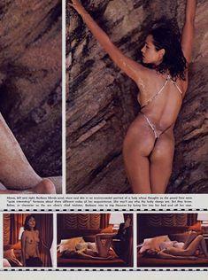 Красотка Барбара Каррера обнажилась в журнале Playboy фото #7
