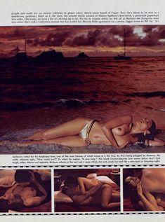 Красотка Барбара Каррера обнажилась в журнале Playboy фото #8