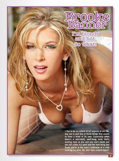 Горячая Брук Баннер в сексуальном белье снялась в журнале Cheating Housewives фото #2