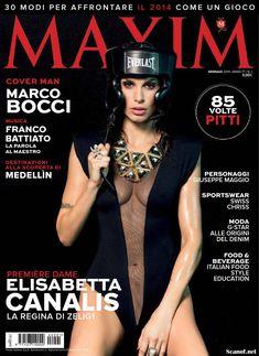 Горячая Элизабетта Каналис в эротической фотосесси для журнала Maxim фото #1