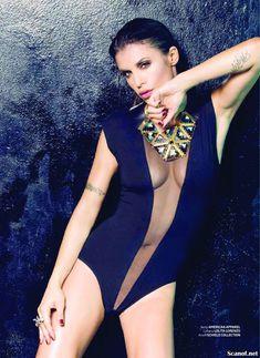 Горячая Элизабетта Каналис в эротической фотосесси для журнала Maxim фото #2