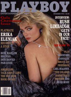 Эрика Элениак  без трусов и лифчика в журнале Playboy фото #1