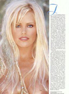 Абсолютно обнажённая Джина Ли Нолин красиво позирует в журнале Playboy фото #4