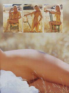 Абсолютно обнажённая Джина Ли Нолин красиво позирует в журнале Playboy фото #7