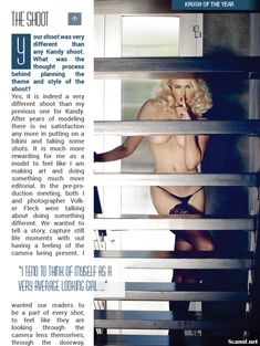 Секси Ирина Воронина в белье для журнала Kandy фото #3