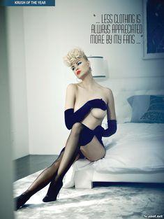 Секси Ирина Воронина в белье для журнала Kandy фото #5